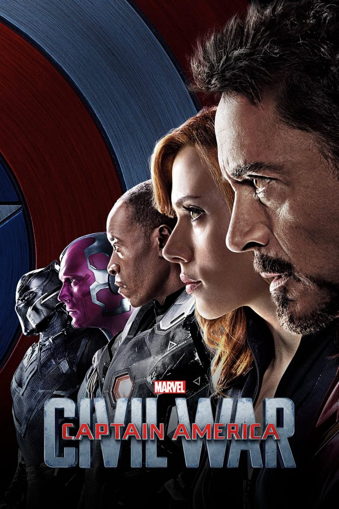 Wallpaper Captain America Civil War Team Superheroes HD Wallpaper