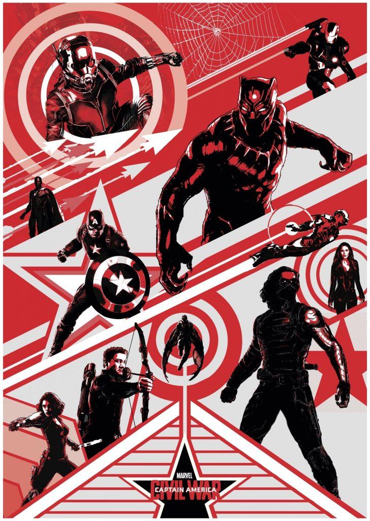 captain america poster high quality HD printable wallpapers 2016 civil war comic poster animated art
