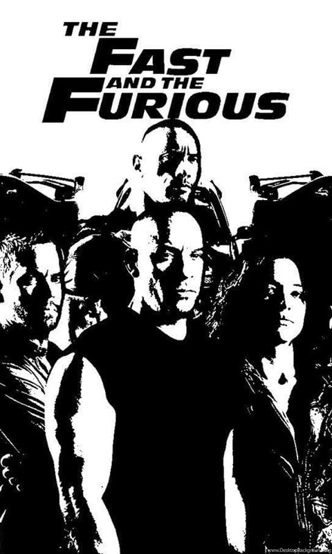 fast and furious poster high quality HD printable wallpapers the fast and the furious 2001 blacck and white all characetrs