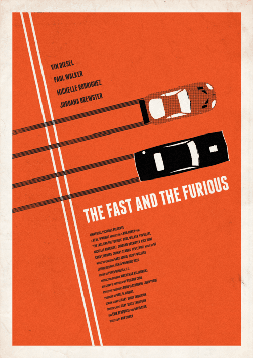 fast and furious poster high quality HD printable wallpapers the fast and the furious 2001 art animated cartoon