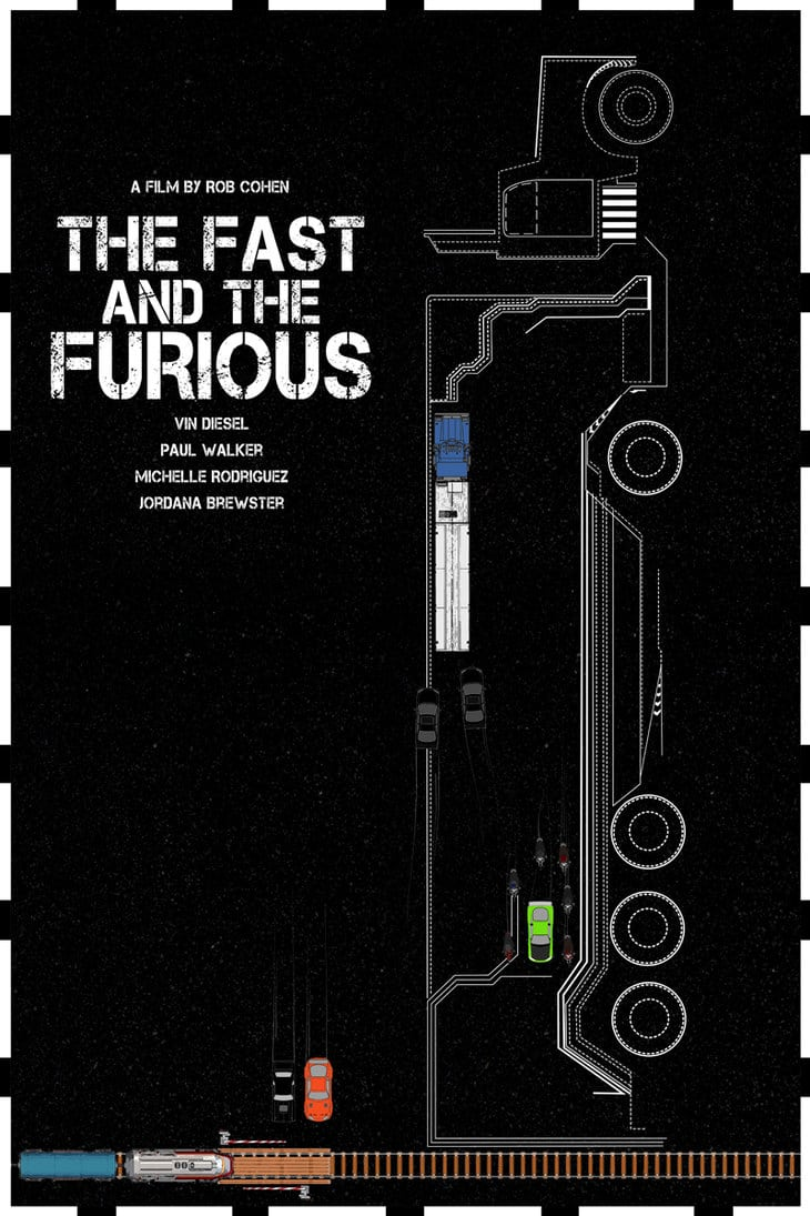 fast and furious poster high quality HD printable wallpapers the fast and the furious 2001 black cars and truck art animated