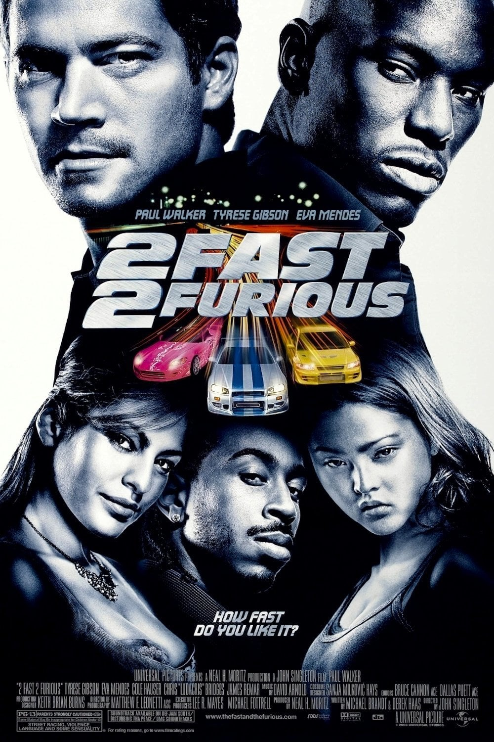 fast and furious poster high quality HD printable wallpapers 2 fast 2 furious 2003 official poster all characters