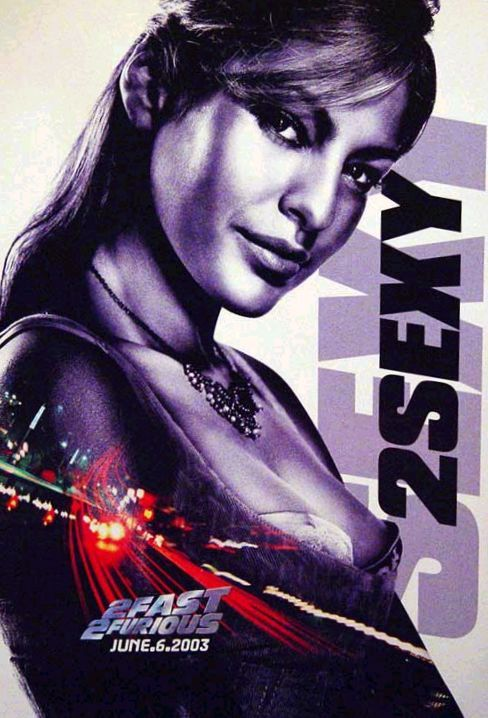 fast and furious poster high quality HD printable wallpapers 2 fast 2 furious 2003 eve mendes