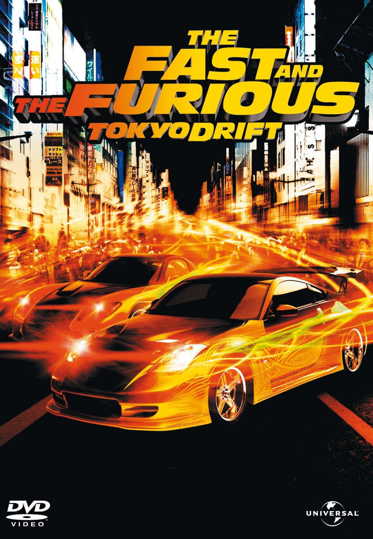 fast and furious poster high quality HD printable wallpapers tokyo drift 2006 car drifting