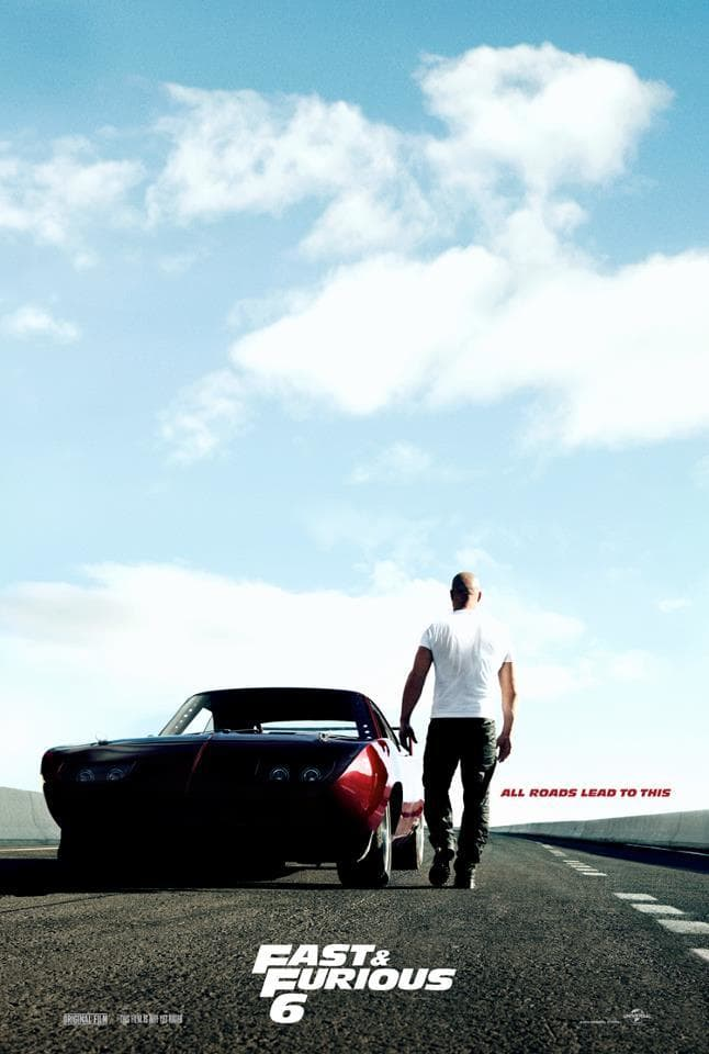 fast and furious poster high quality HD printable wallpapers vin diesel dom and his car