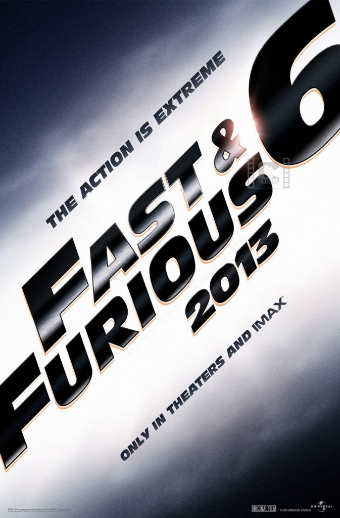 fast and furious poster high quality HD printable wallpapers 6 part 2013 official poster