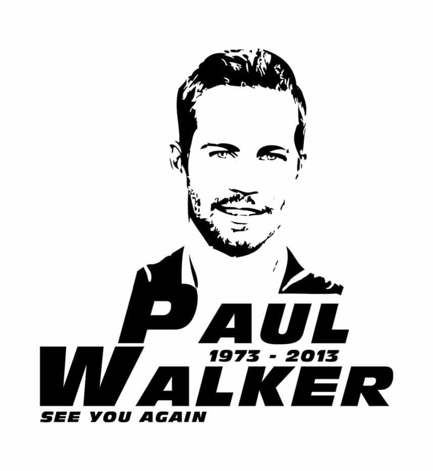 fast and furious poster high quality HD printable wallpapers paul walker sketch