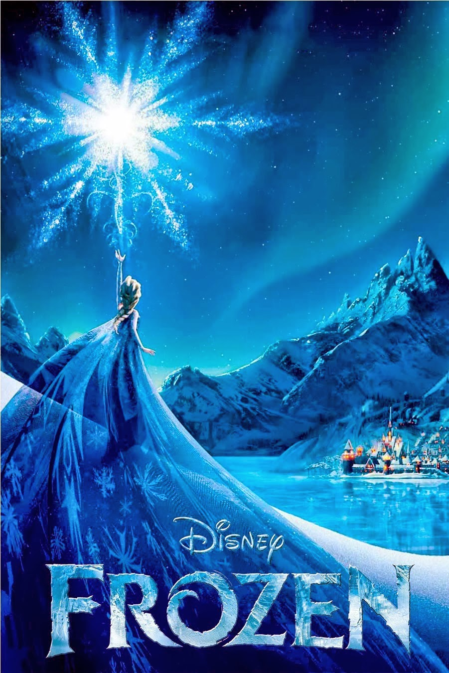 Let it Go Frozen Poster