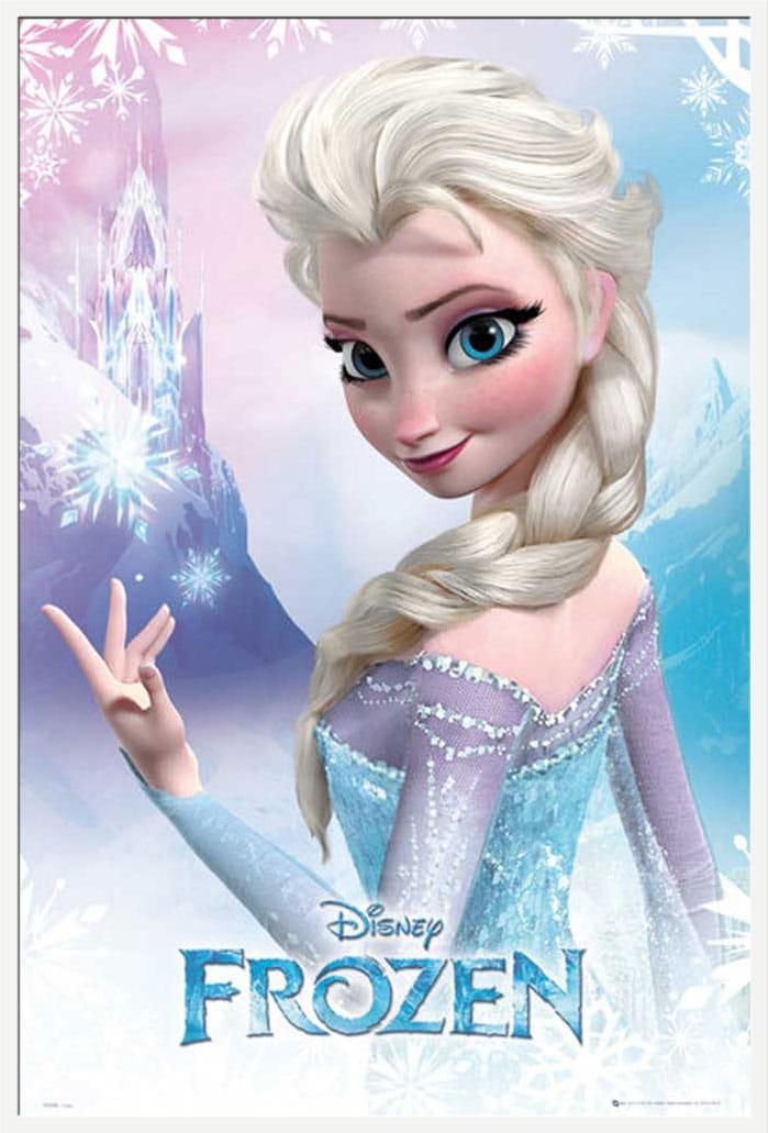 Elsa Frozen Poster