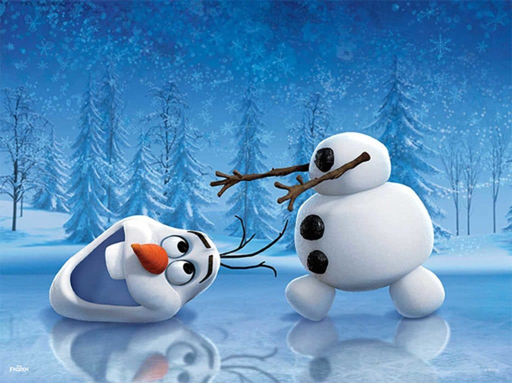 Cute Olaf Frozen Poster