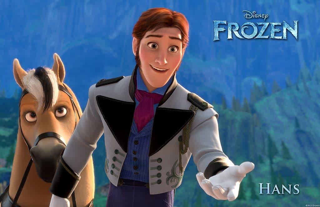 Hans Frozen Poster