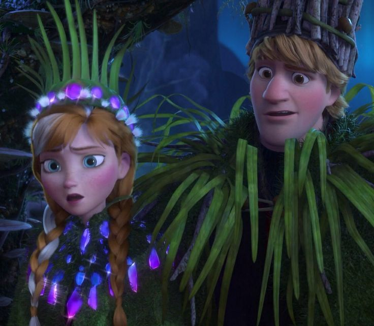 Anna and Kristoff's wedding