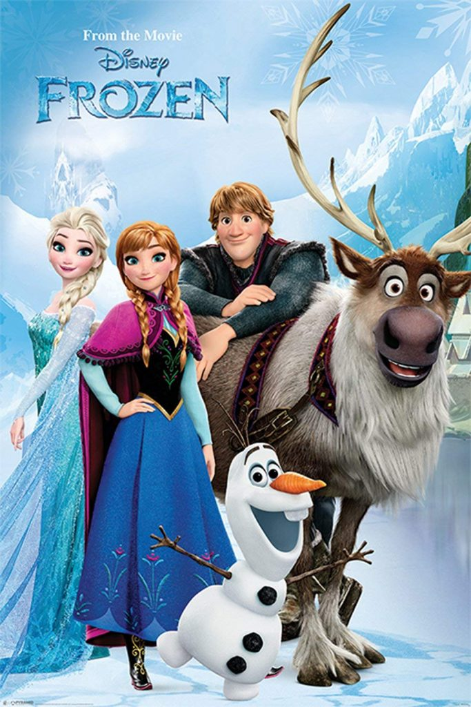 Cast Frozen poster