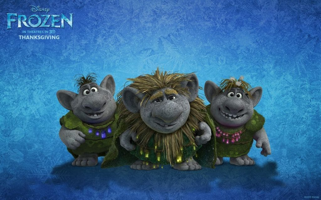 Trolls frozen poster
