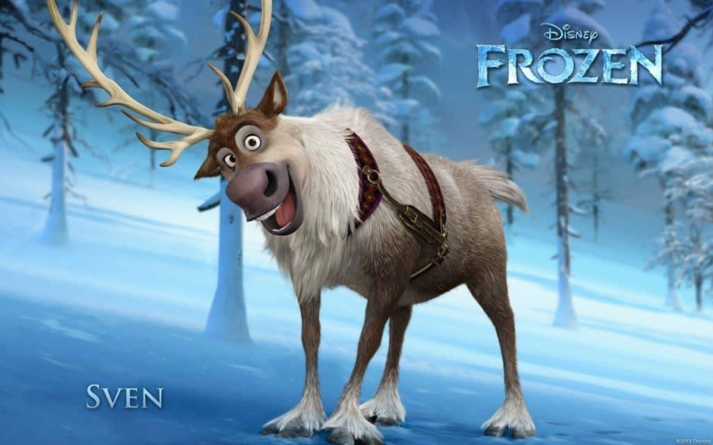 sven frozen poster
