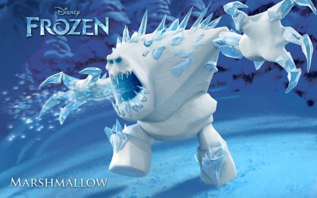 MArshmallow frozen poster