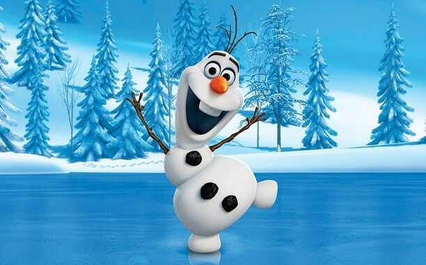 Olaf frozen poster
