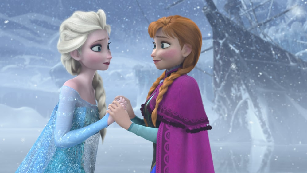 Act of love frozen poster