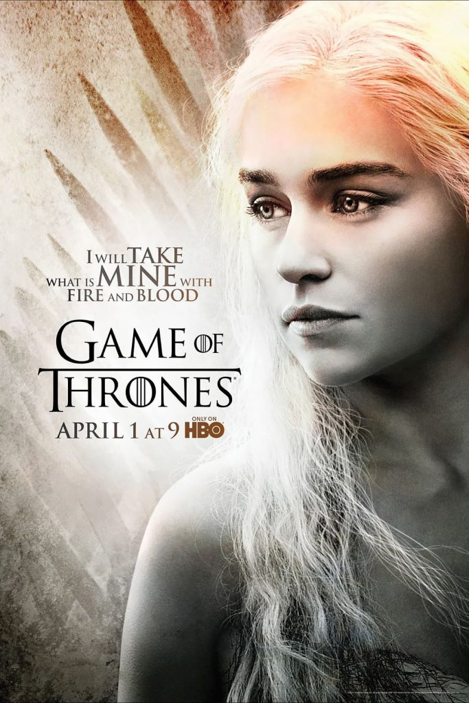 game of thrones poster high quality HD printable wallpapers season 2 dean daenerys