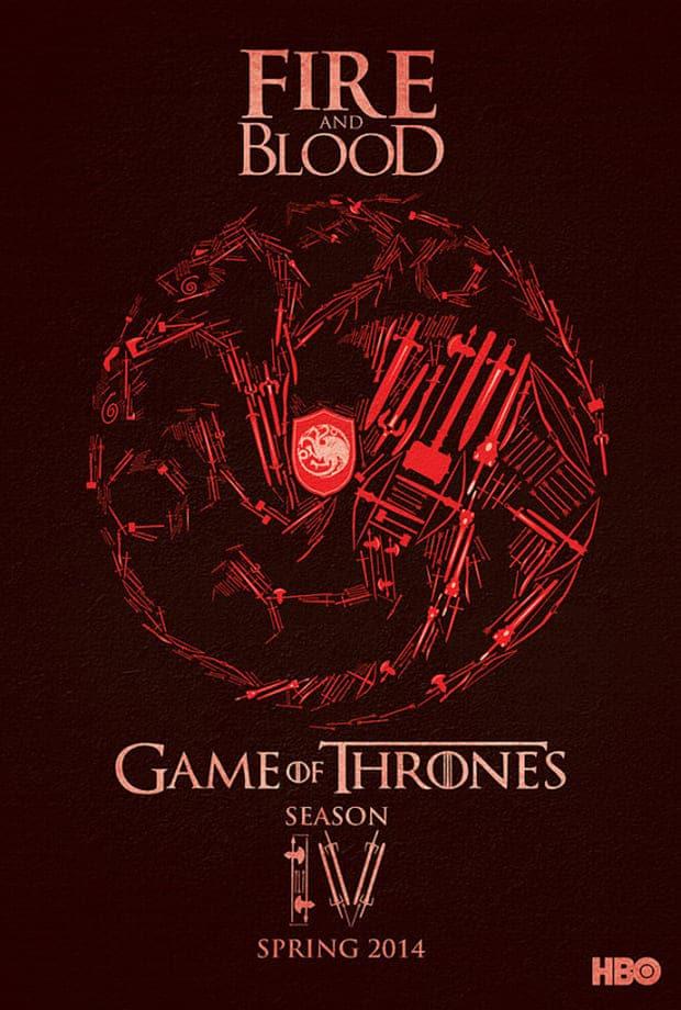 game of thrones poster high quality HD printable wallpapers season 4 art animated cartoon