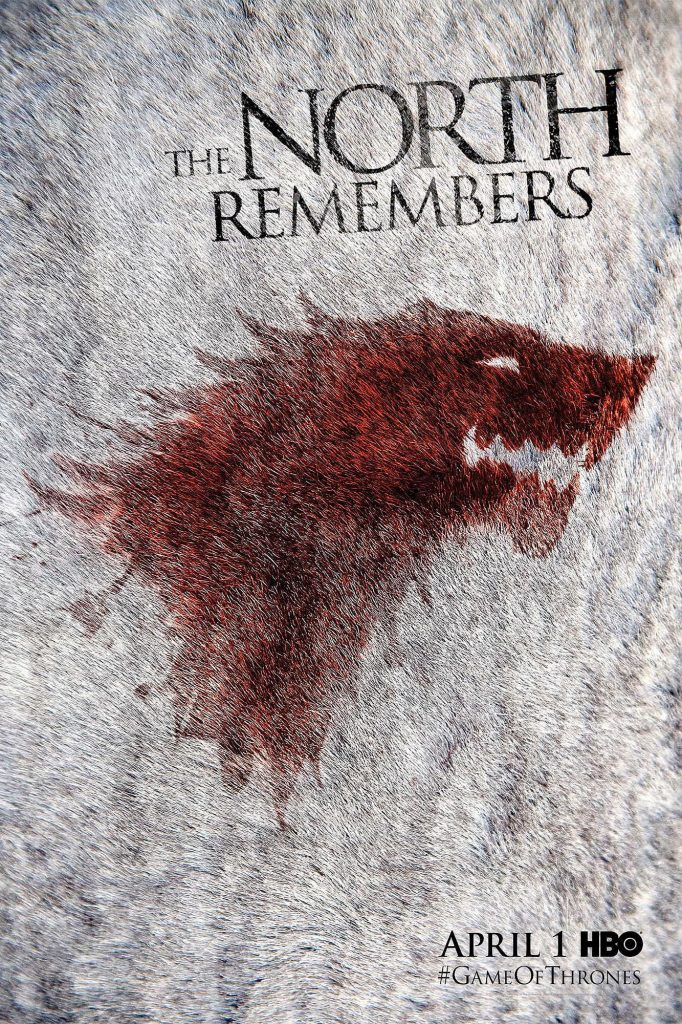 game of thrones poster high quality HD printable wallpapers season season 2 north remembers first episode