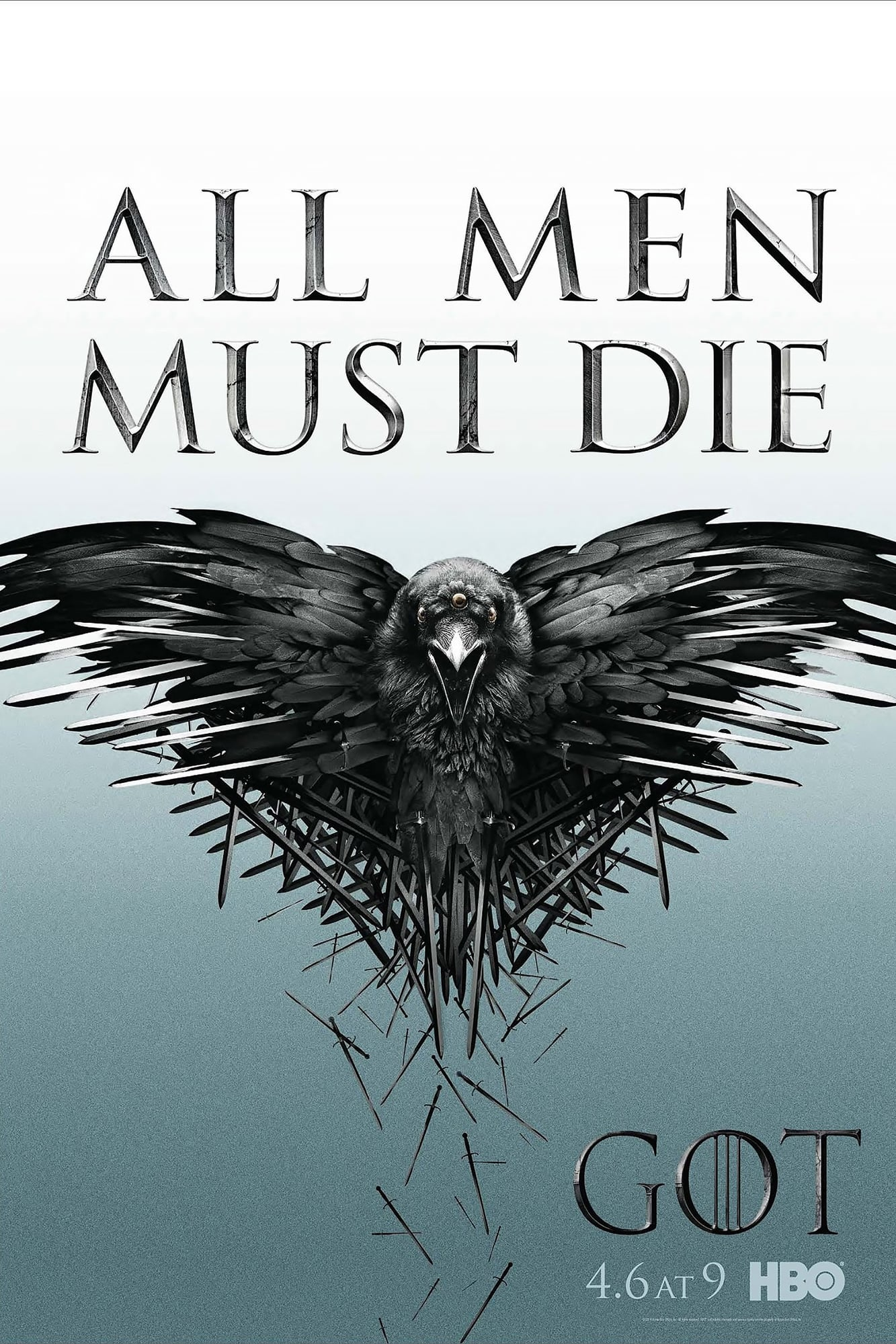 game of thrones poster high quality HD printable wallpapers season 2 all men must die crow animated cartoon
