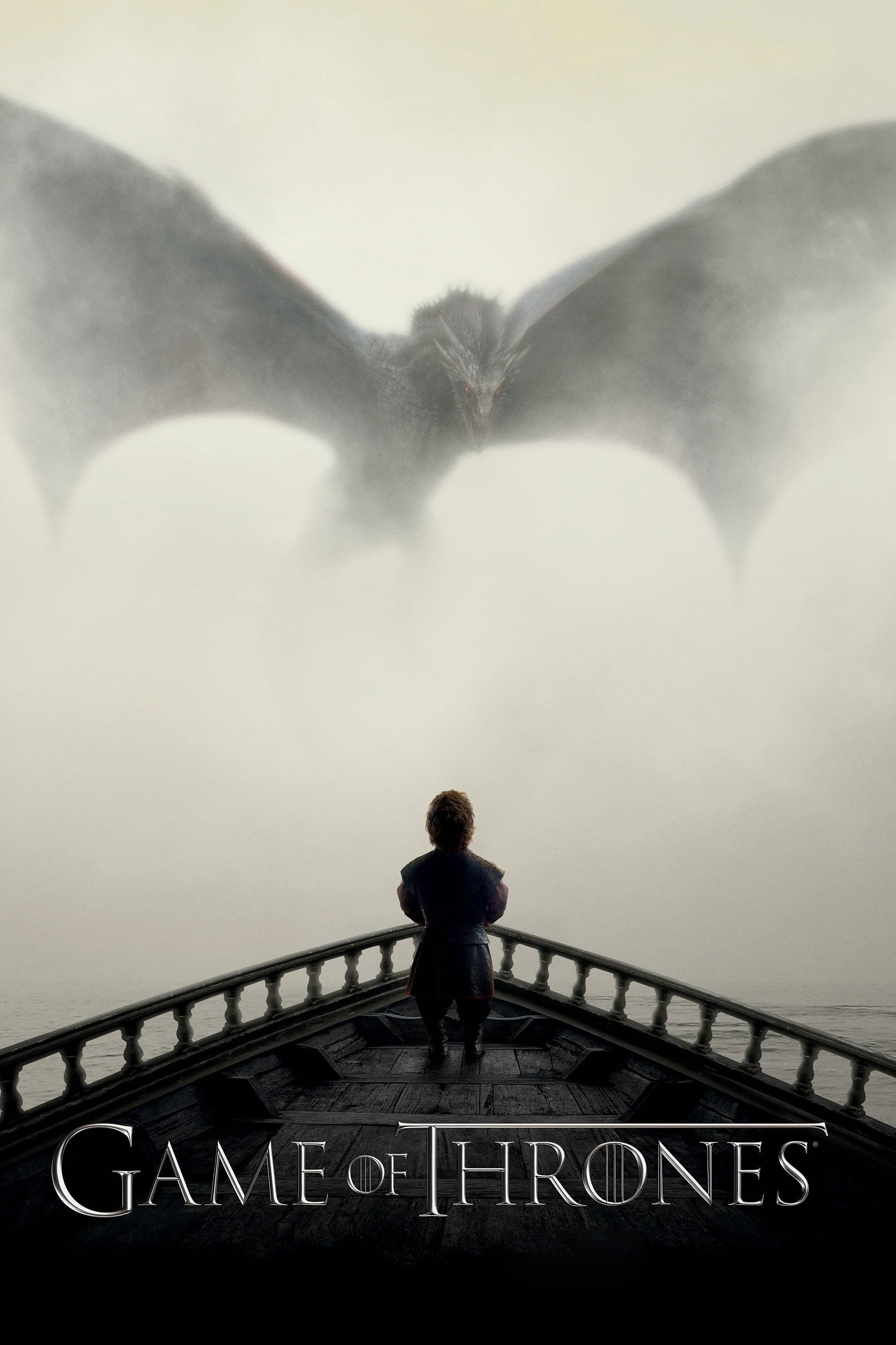 game of throne poster high quality HD printable wallpapers seaon 4 dragon and tyrion scene