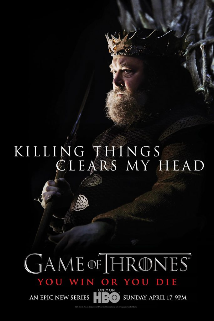 game of thrones poster high quality HD printable wallpapers season 4 killing things clear my head quote