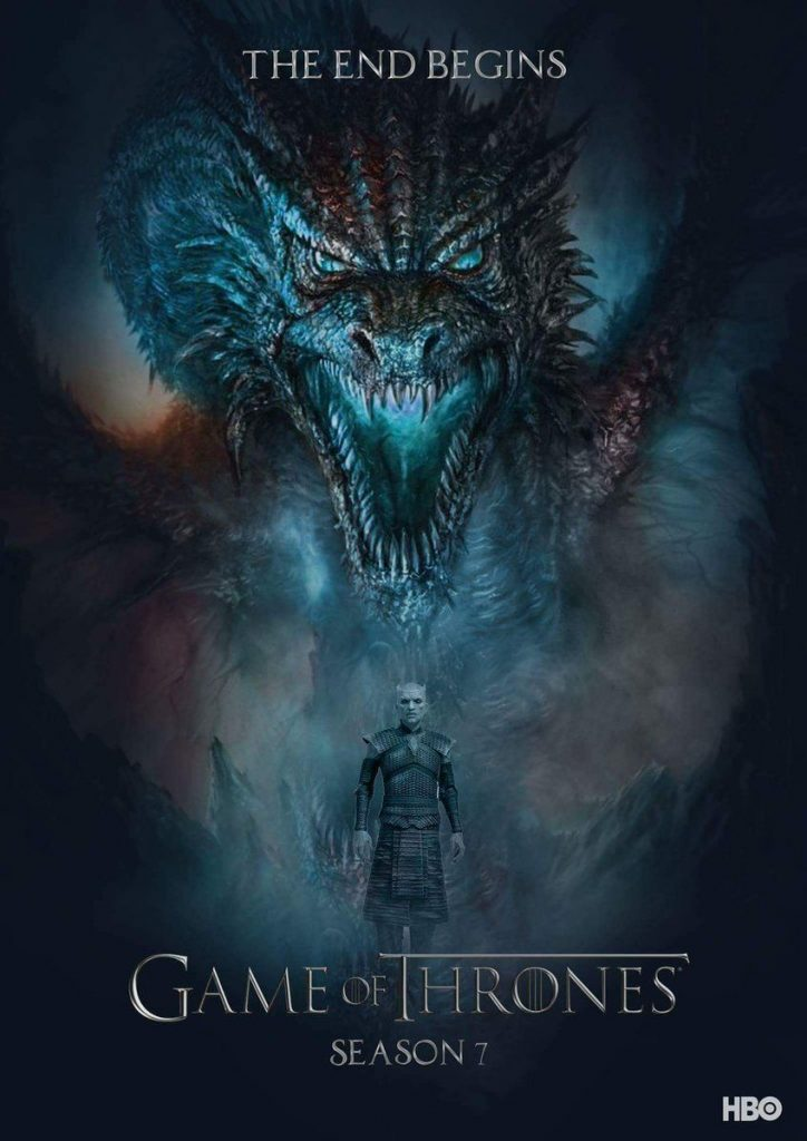 game of thrones poster high quality HD printable wallpapers season 7 biggest dragon