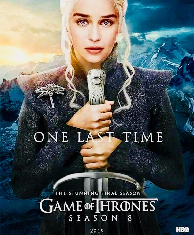 game of thrones poster high quality HD printable wallpapers season 8 daenrys upcoming season
