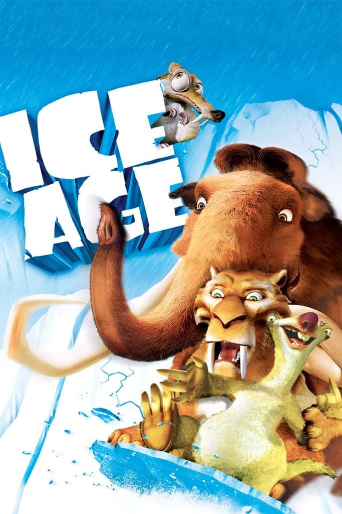 ice age poster part 1 2002 high quality HD printable wallpapers all characters in action