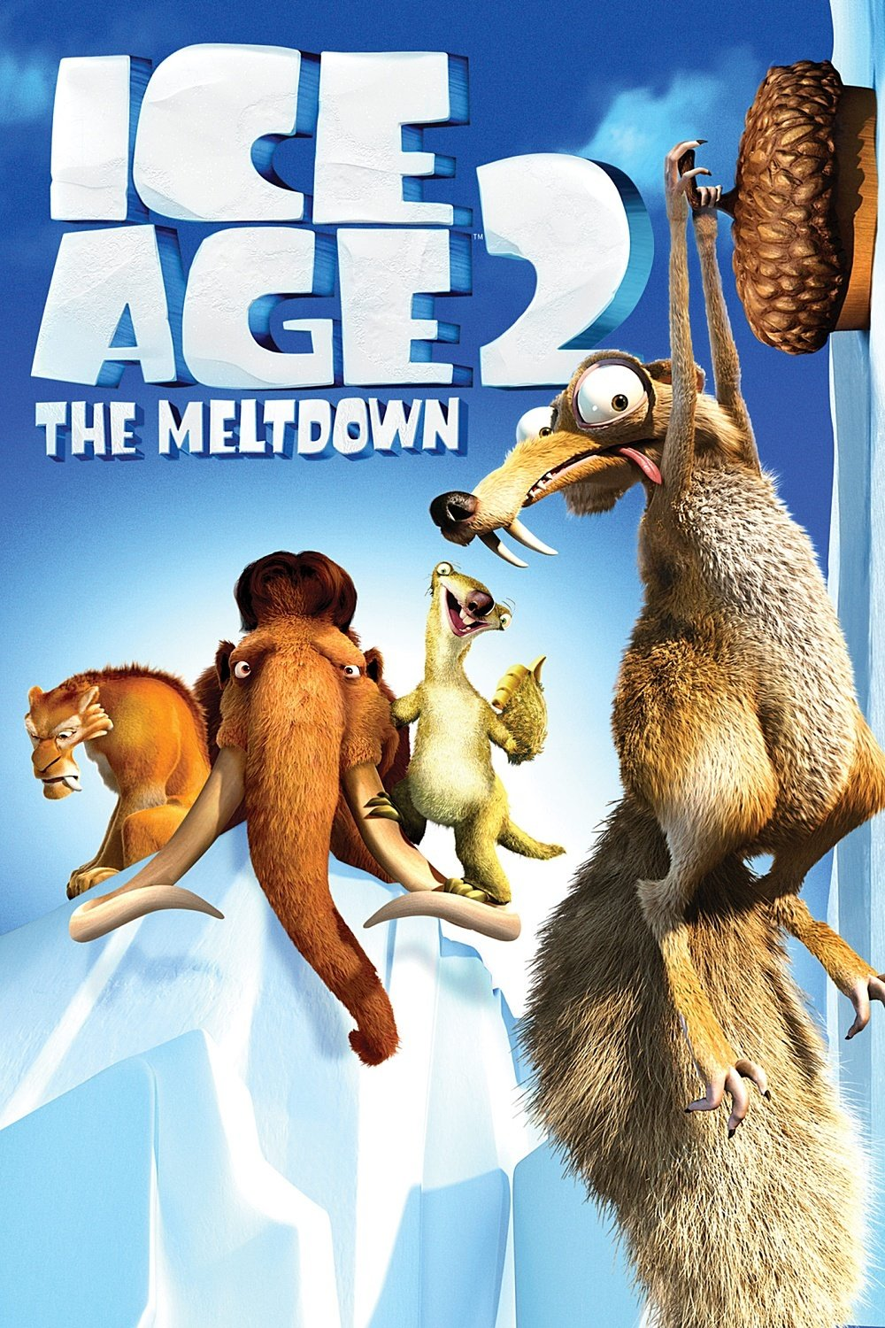 ice age poster part 2 2006 high quality HD printable wallpapers manny the meltdown scrat