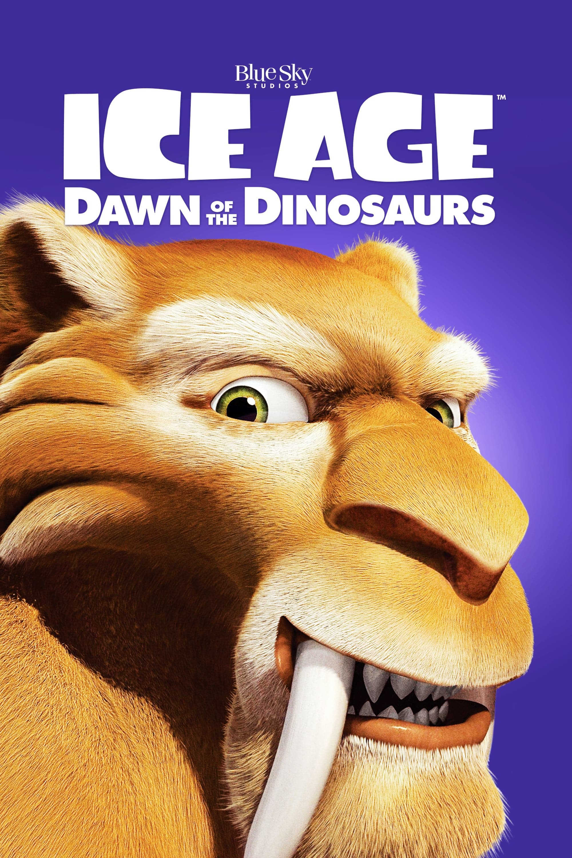 ice age poster part 3 2009 dawn of dinosuars high quality HD printable wallpapers diego poster