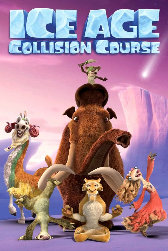ice age poster part 3 2016 colision course high quality HD printable wallpapers all characters