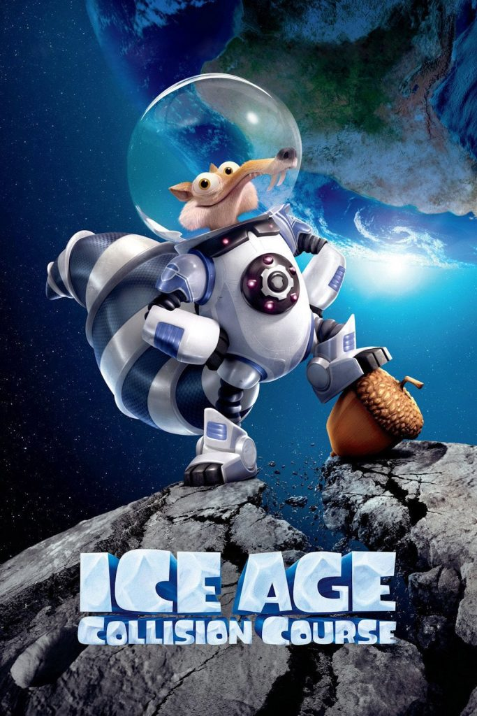 ice age poster part 3 2016 colision course high quality HD printable wallpapers scrat in space