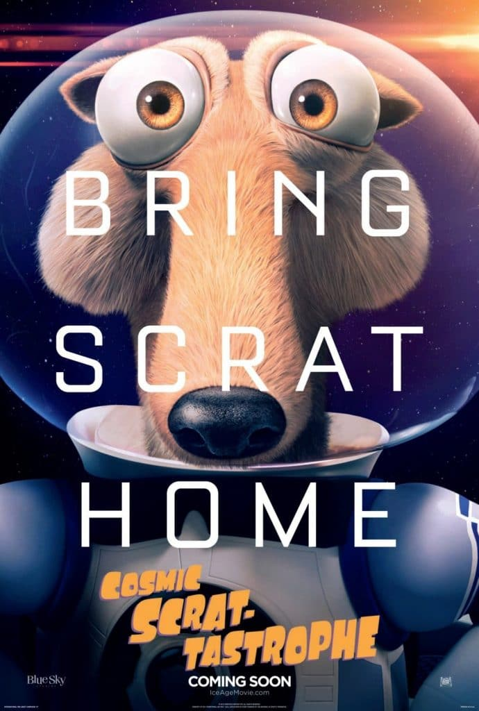 ice age poster part 3 2016 colision course high quality HD printable wallpapers martian style posters bring scrat home