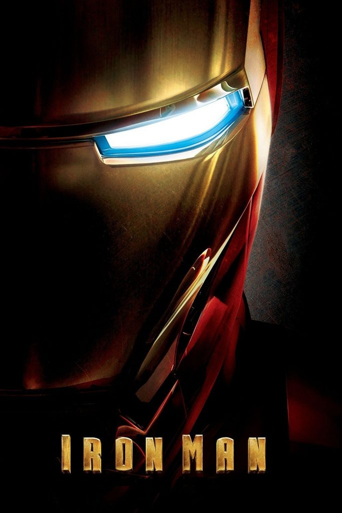 iron man poster high quality HD printable wallpapers 2008 half face tony stark