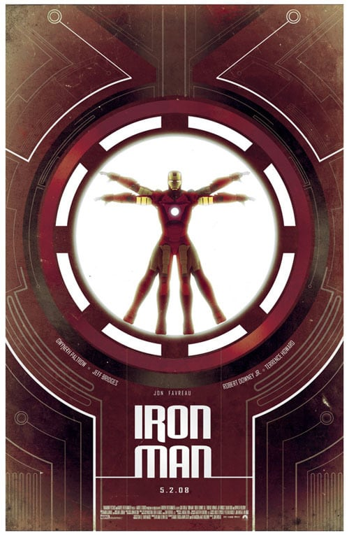 iron man poster high quality HD printable wallpapers 2008 suit