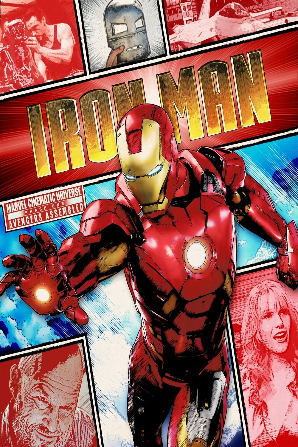 iron man poster high quality HD printable wallpapers 2008 art animated cartoon