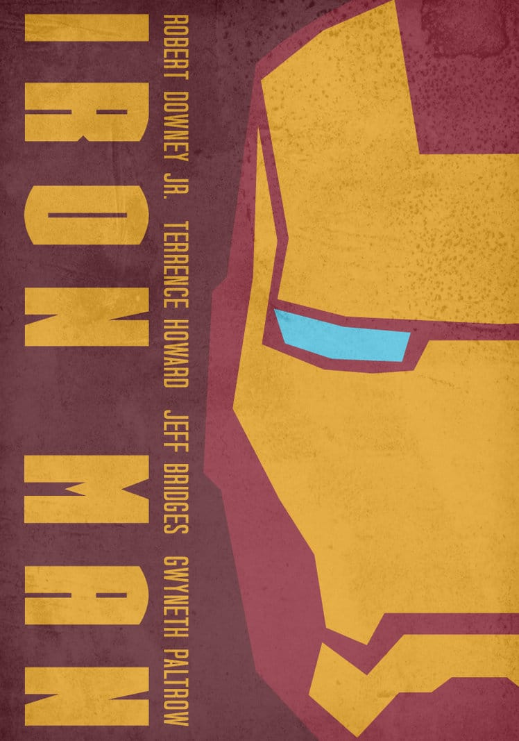 iron man poster high quality HD printable wallpapers 2008 art cartoon animated