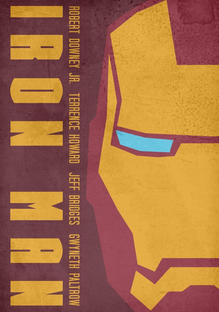 iron man poster high quality HD printable wallpapers 2008 art cartoon animated