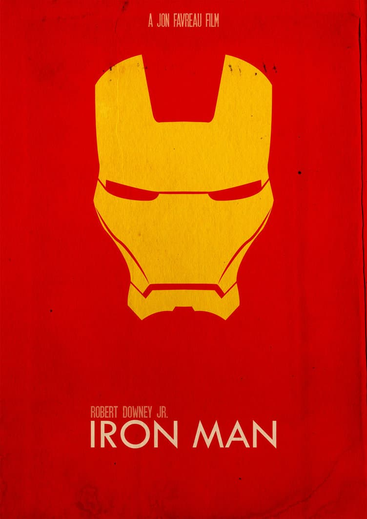 iron man poster high quality HD printable wallpapers red and yellow iron man art animated cartoon poster