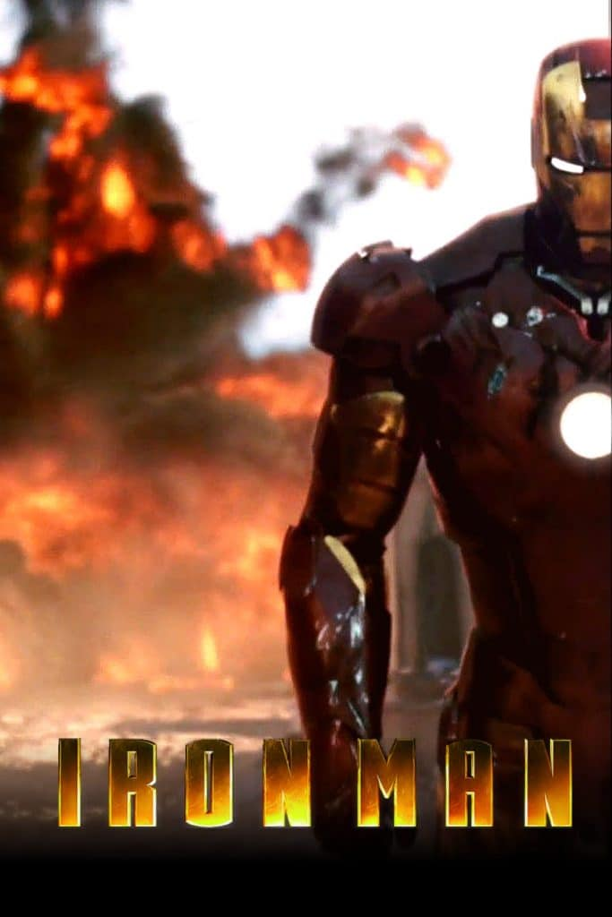 iron man poster high quality HD printable wallpapers 2008 tank exploding scene