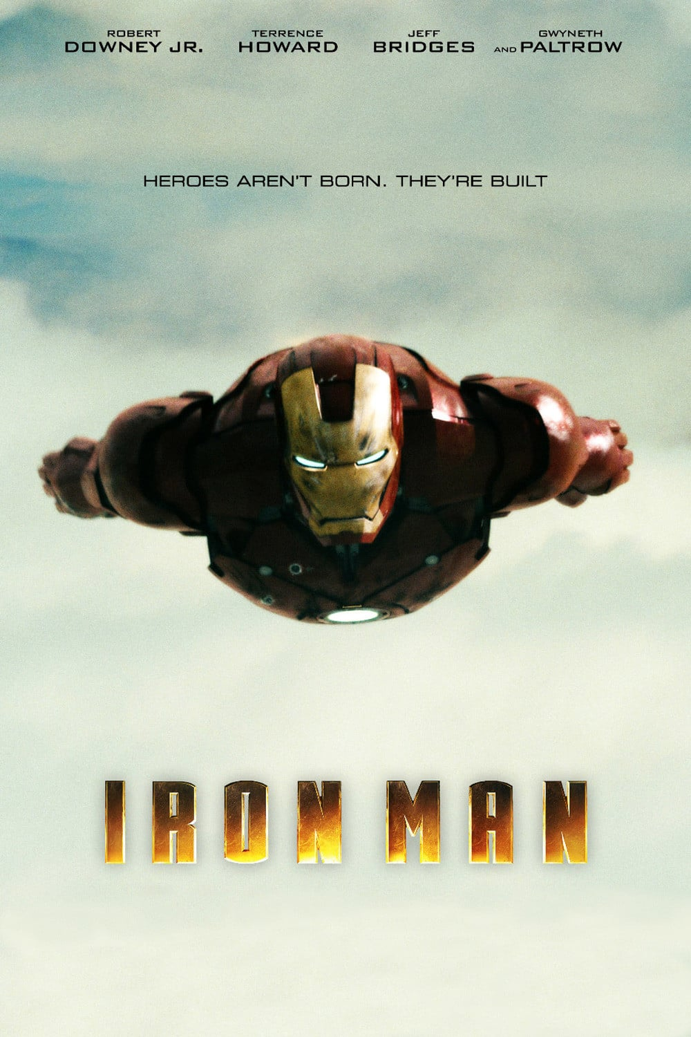 iron man poster high quality HD printable wallpapers 2008 tony stark flying