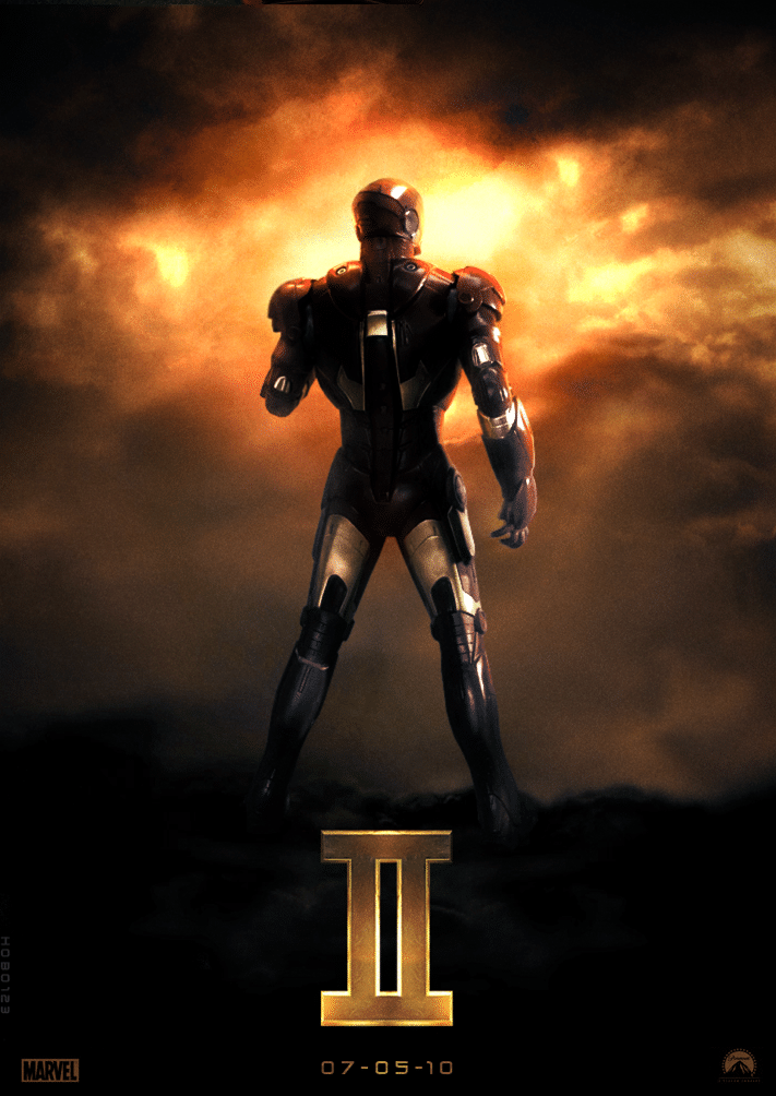iron man poster high quality HD printable wallpapers 2010 iron man in fire