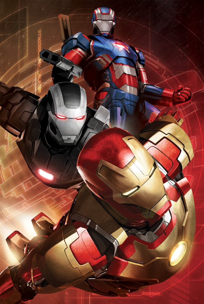 iron man poster high quality HD printable wallpapers 2013 iron man 3 iron patriot war machine and iron man