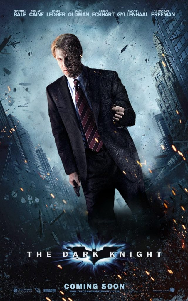 the dark knight poster high quality HD printable wallpapers 2008 two face harvey dent