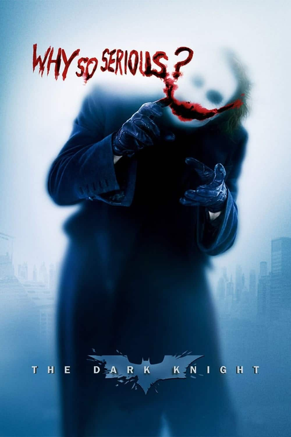 the dark knight poster high quality HD printable wallpapers 2008 joker why so serious joke