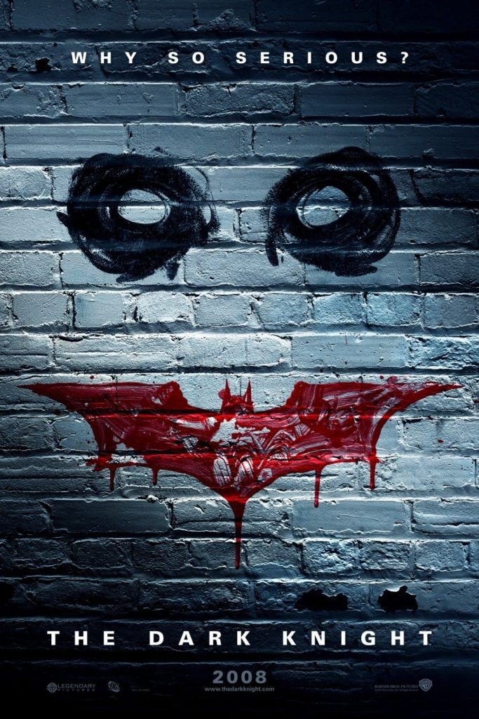 the dark knight poster high quality HD printable wallpapers 2008 batman and joker art on wall