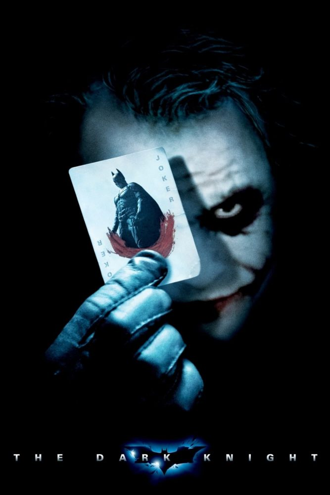 the dark knight poster high quality HD printable wallpapers 2008 joker with batman card